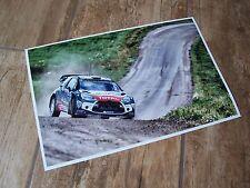 Photo / Photograph CITROEN DS3 Mads Ostberg Finland Rally  2015 //