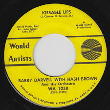 Barry Darvell w/ Hash Brown 45rpm World Artists WA 1058 I Found A Daisy/Kissable