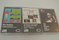 Cassette Tapes Lot of 3 Otis Redding Complete & Unbelievable Stax/Volt Revue 2
