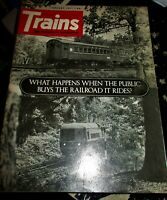 Trains Magazine January 1971 Issue