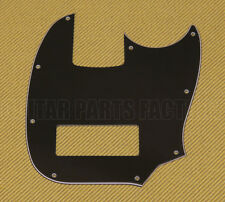 009-2692-000-MW Fender Squier 3-Ply Black Mikey Way Mustang Bass Hum Pickguard