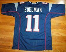 JULIAN EDELMAN PATRIOTS SIGNED AUTO AUTHENTICATED CUSTOM FOOTBALL NFL JERSEY COA