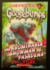 Classic Goosebumps: The Abominable Snowman of Pasadena 27 by R. L. Stine (2015,