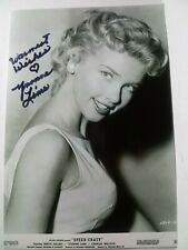 YVONNE LIME Authentic Hand Signed Autograph 4X6 Photo - ELVIS - SEXY ACTRESS