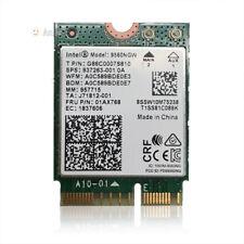 Intel Wireless-AC 9560NGW NGFF Dual Band 802.11ac 1.73Gbps WiFi + BT5.0 01AX770
