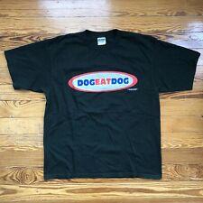 Vintage DOG EAT DOG NYC Hardcore Band XL USA 1995 Logo Shirt Metal Punk Rock