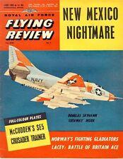 RAF FLYING REVIEW JUN 62 WW1 McCUDDEN S.E.5_F8U-1T_A4D SKYHAWK_Ki.102_GINGER LAC