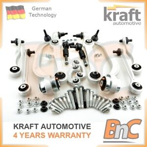 SUSPENSION CONTROL ARMS SET WISHBONE AUDI RS4 A6 C5 VW PASSAT B5 B5.5 SUPERB