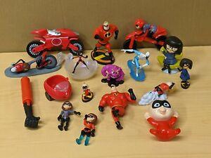 Disney Pixar The Incredibles Action Figures & Toys Mixed Lot