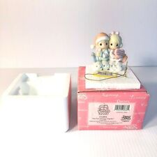 "Precious Moments by Enesco ""Our First Christmas Together"" 2003 Ornament - Euc"