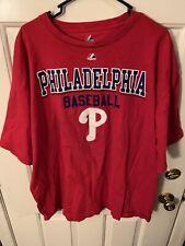 Philadelphia Phillies 2XL XXL Majestic T Shirt