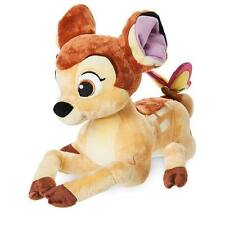 "Disney Store Authentic Bambi Stuffed Animal Plush 13"" Big Toy Kids Adult Gift"
