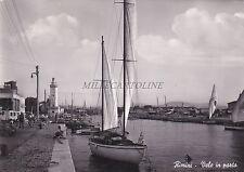 RIMINI - Vele in Porto 1952