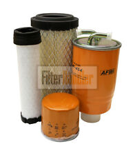 Filtersatz Filterkit passend für Kubota KX41-2v Alpha mit Kubota Motor D1105-BH2