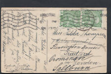 Family History Postcard - Thompson - Kensington House, Bradford, Saltburn  RF874