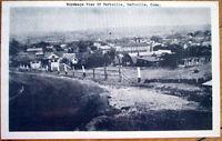 1950s Taftville, CT Postcard: Birdseye View-Connecticut