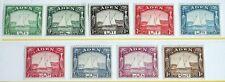 Aden – 1937 Set to 1 R – L.M. Mint – (R4-E)