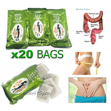 20 BAGS SLIMMING BOTANICAL HERBAL TEA BURN FAT DIET DETOX WEIGHT LOSS DRINK