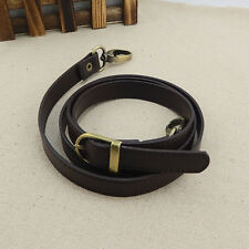 Leather Adjustable Bag Strap Shoulder Purse Replacement Handbag Cross Body 120cm