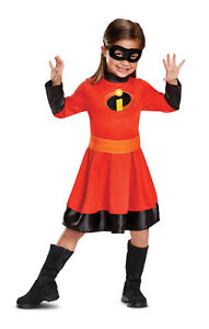 Violet Girls Toddler The Incredibles Superhero Classic Halloween Costume-2T