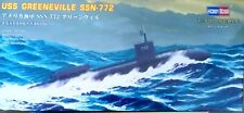 HOBBYBOSS 1:700 scale Model Kit plastic u-boat submarine USS GREENEVILLE ship