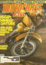 1978 September Motocross Action Motorcycle Magazine Back-Issue