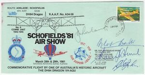 1981 18th Mar. Schofields '81 Air Show, Signed by Gr. Capt. Sir Douglas Bader.
