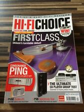 HI-FI Choice CD Amp Speakers Sub Music Cables Etc Issue No 318 April 2009