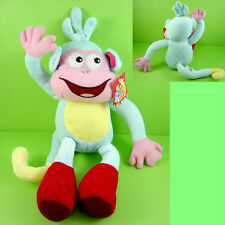 "CUTE 12"" Dora the Explorer Boots The Monkey Soft Plush Doll Toy + CHARM"