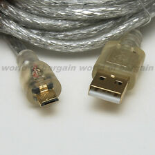 USB Micro B to USB A Plug HIGH SPEED CABLE Data Sync & Charging Cellphone EL40