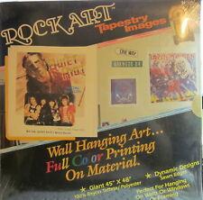 "Quiet Riot - Metal Health  (Rock Art 45"" x 48"" cloth Tapestry) (sealed) ('84)"