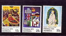 AUSTRALIA 1979 Christmas set MUH