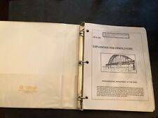 1999 Us Army Explosives And Demolitions Book Fm 5-250 with Change 1