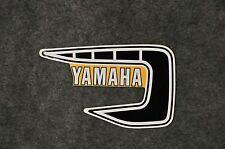 Yamaha 1981 NOS YZ tank sticker 125 - 250 - 465 4V4-24240-09-00 vmx ahrma