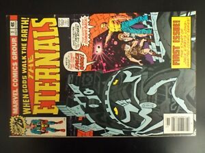 ETERNALS 1 ORIGIN AND FIRST APPEARANCE OF IKARIS AND THE ETERNALS 1976 NICE