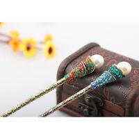 Pearl Accessories Crystal Hair Chopstick Hair Stick Rhinestone Hairpin