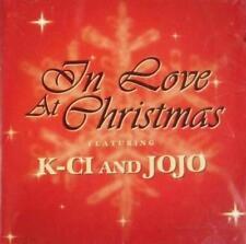 K-Ci & JoJo: In Love At Christmas PROMO w/ Artwork MUSIC AUDIO CD 3trk CSK 41719