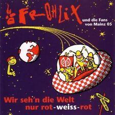 DIE FROHLIX+FANS VON MAINZ 05 mit JÜRGEN KLOPP  Wir sehn die Welt CD (1996) neu