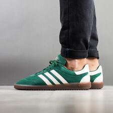 Adidas Spezial Intack men's 12  Green Suede / White Stripe hamburg samba trimm
