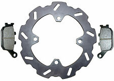 Honda CBR900RR Fireblade rear brake disc & pads (1992-2003) high grade steel,new