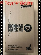 Hot Toys MMS 500 D27 The Avengers Iron Man Mark 7 VII Diecast Tony (Normal Ver)