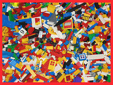 LEGO 800 PIECES GENUINE BRICKS PARTS MINIFIGURES 1KG MIXED LOOSE BUNDLE BULK LOT