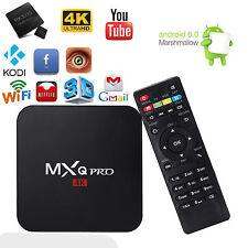 Android 6.0 Smart Rockchip3229 A7 4K TV Box MXQpro 1+8G Internet Media Streamers