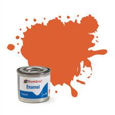 Humbrol AA0905 Enamel pas de 82 Orange Lining Matt (14ml) Modélisme
