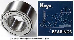 2004-2010 TOYOTA SIENNA Front Wheel Hub Bearing (OEM) (KOYO)