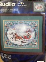 TO GRANDMOTHER'S HOUSE WE GO BUCILLA COUNTED Cross STITCH KIT Rossi  SEALED