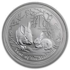 Perth Mint Australia 2011 Lunar Rabbit 1 oz .999 Silver Coin
