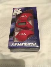 FILA Finger Watch - New And Rare In Box