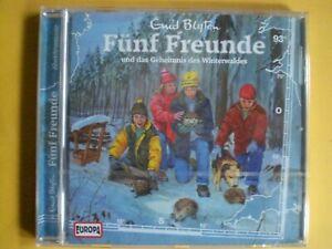 Fünf 5 Freunde und das Geheimnis des Winterwaldes 93 CD Hörspiel neu und OVP