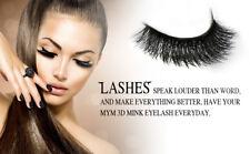 💕 3D Fur Mink EyeLashes Makeup  2 Pair ! 💕 US SELLER